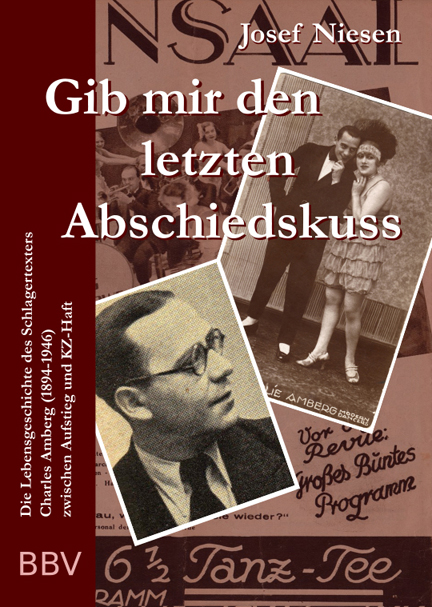 Cover for the 2017 Charles Amberg biography by Josef Niesen.