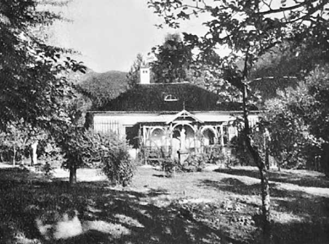 "The Rose Villa in Ischl where Kalman composed his ""Csardasfürstin."" (Photo: Die Villen von Bad Ischl/Amalthea)"