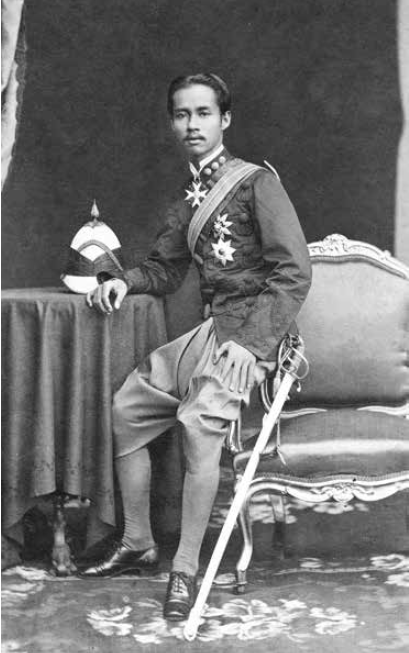 Tschulalongkorn, king of Siam. (Photo: Die Villen von Bad Ischl/Amalthea)