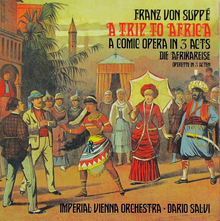 "CD cover for ""A Trip to Africa"" with the Imperial Vienna Orchestra."