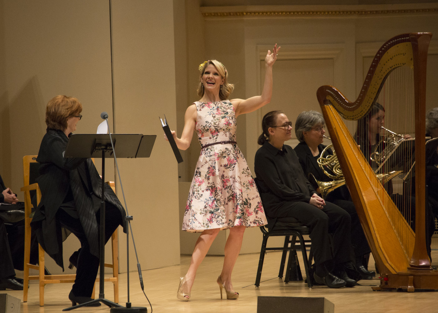 "Kelli O'Hara on stage at Carnegie Hall in ""Babes in Toyland."" (Photo: Erin Baiano)"