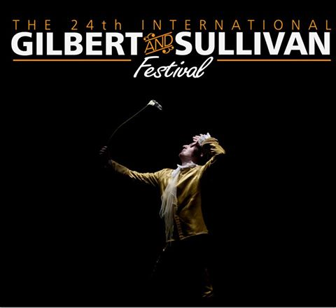 Poster for the 24th International Gilbert & Sullivan Festival.