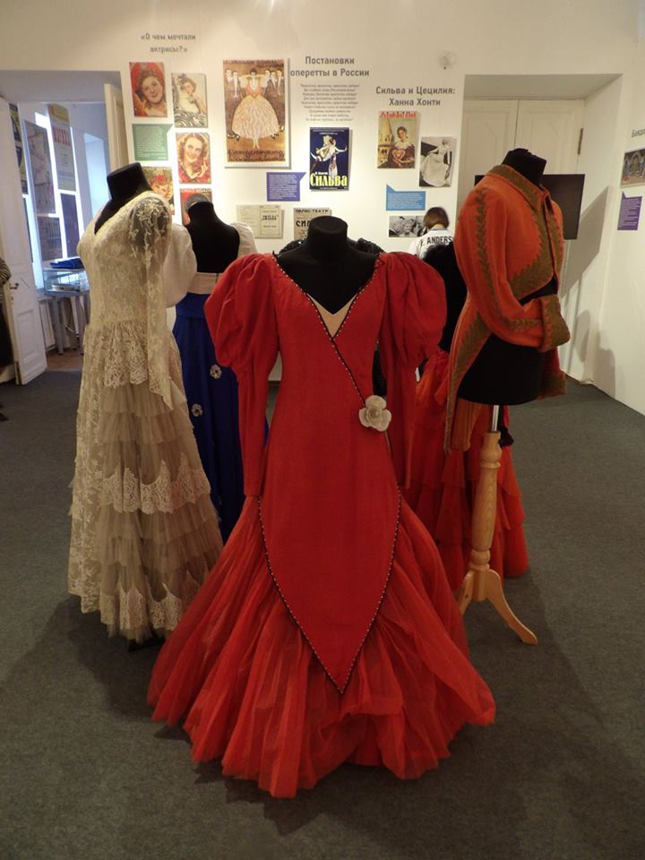 The Hungarian operetta exhibition at Moscow's Bakhrushin State Central Theatre Museum. (Photo: Miskolci Színészmúzeum -Thália-ház)