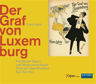 "The cover of the OEHMS Classics ""Der Graf von Luxemburg,"" 2017."