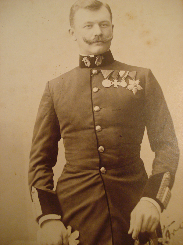 The young Franz Lehár, at the start of his career.