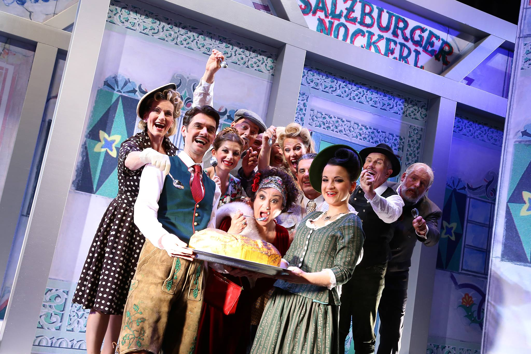 """Saison in Salzburg"" at the 2017 Lehár Festival Bad Ischl (Photo: Foto Hofer)"