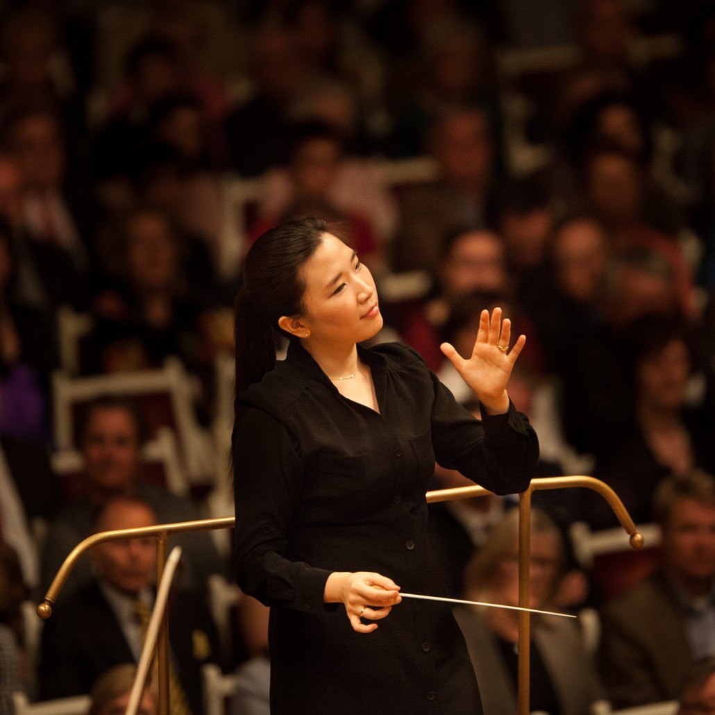 Conductor Eun Sun Kim. (Photo: www.eunsunkim.com)