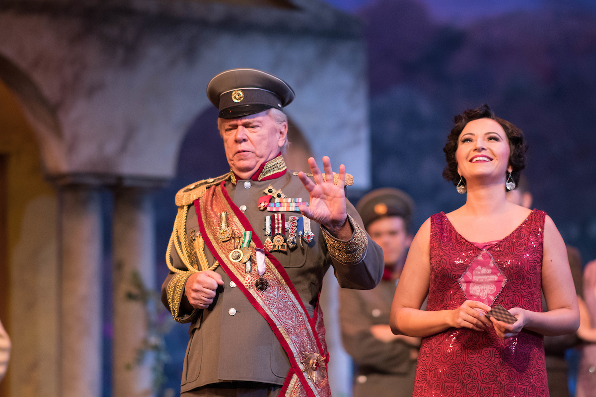 Tanya Roberts as Maritza in the 2017 Ohio Light Opera production. (Photo: Matt Dilyard)