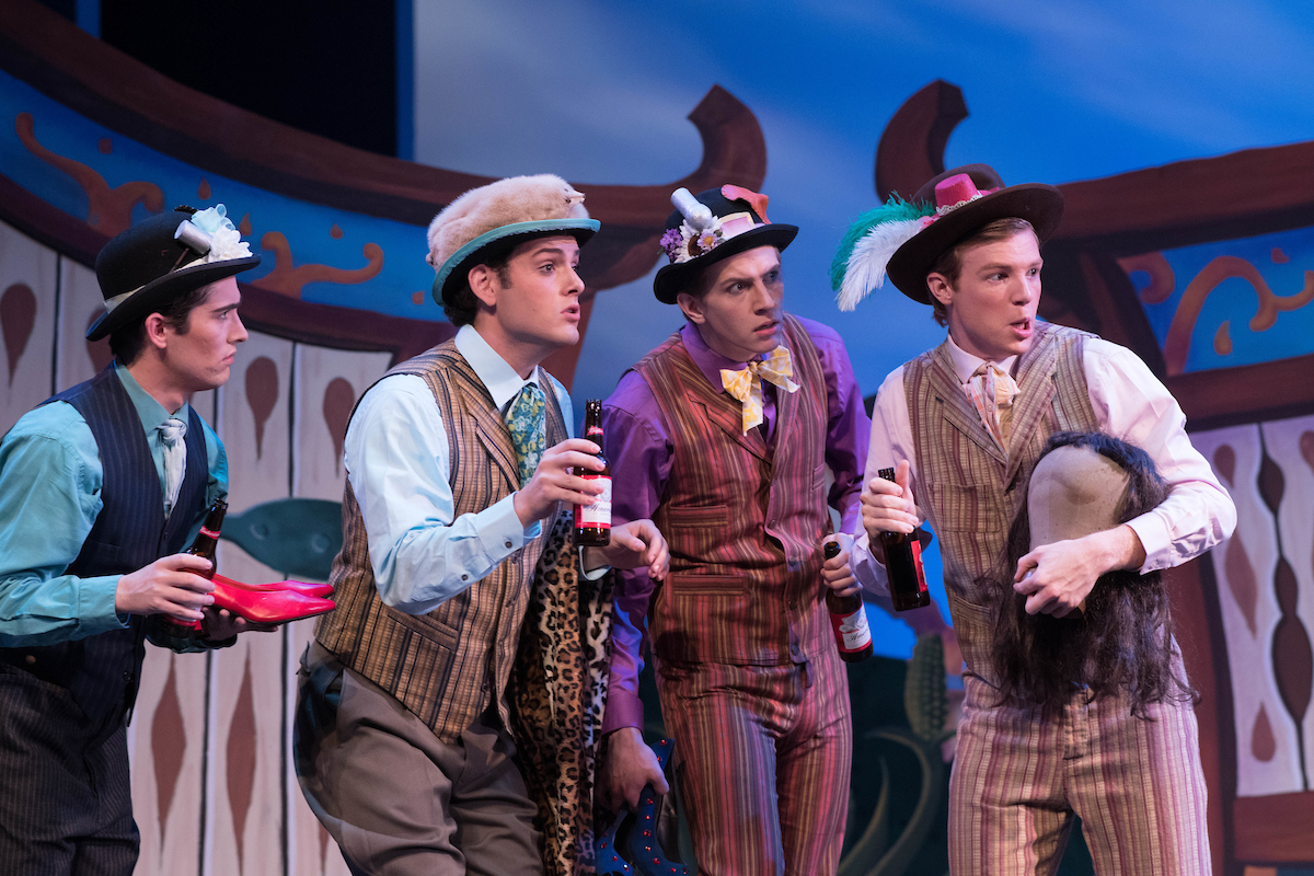 "The gentlemen in ""The Lady of the Slipper"" at Ohio Light Opera, 2017. (Photo: Matt Dilyard)"