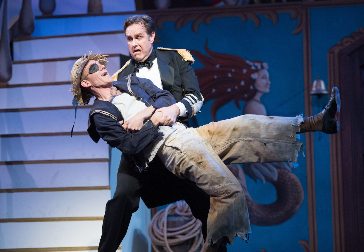 "Scene from the 2017 ""HMS Pinafore"" at Ohio Light Opera. (Photo: Matt Dilyard)"