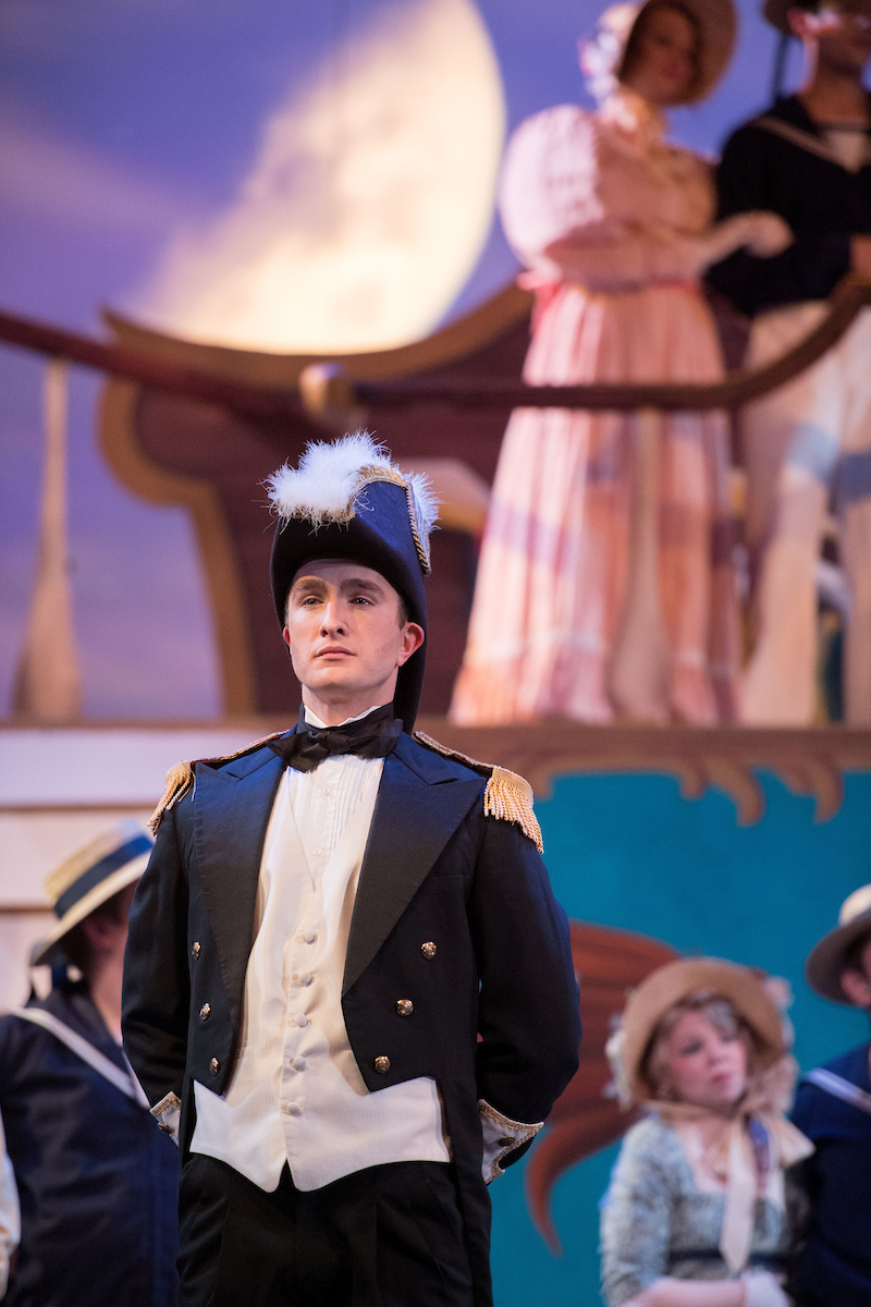 "Stephen Faulk in ""HMS Pinafore"" at the Ohio Light Opera, 2017. (Photo: Matt Dilyard)"