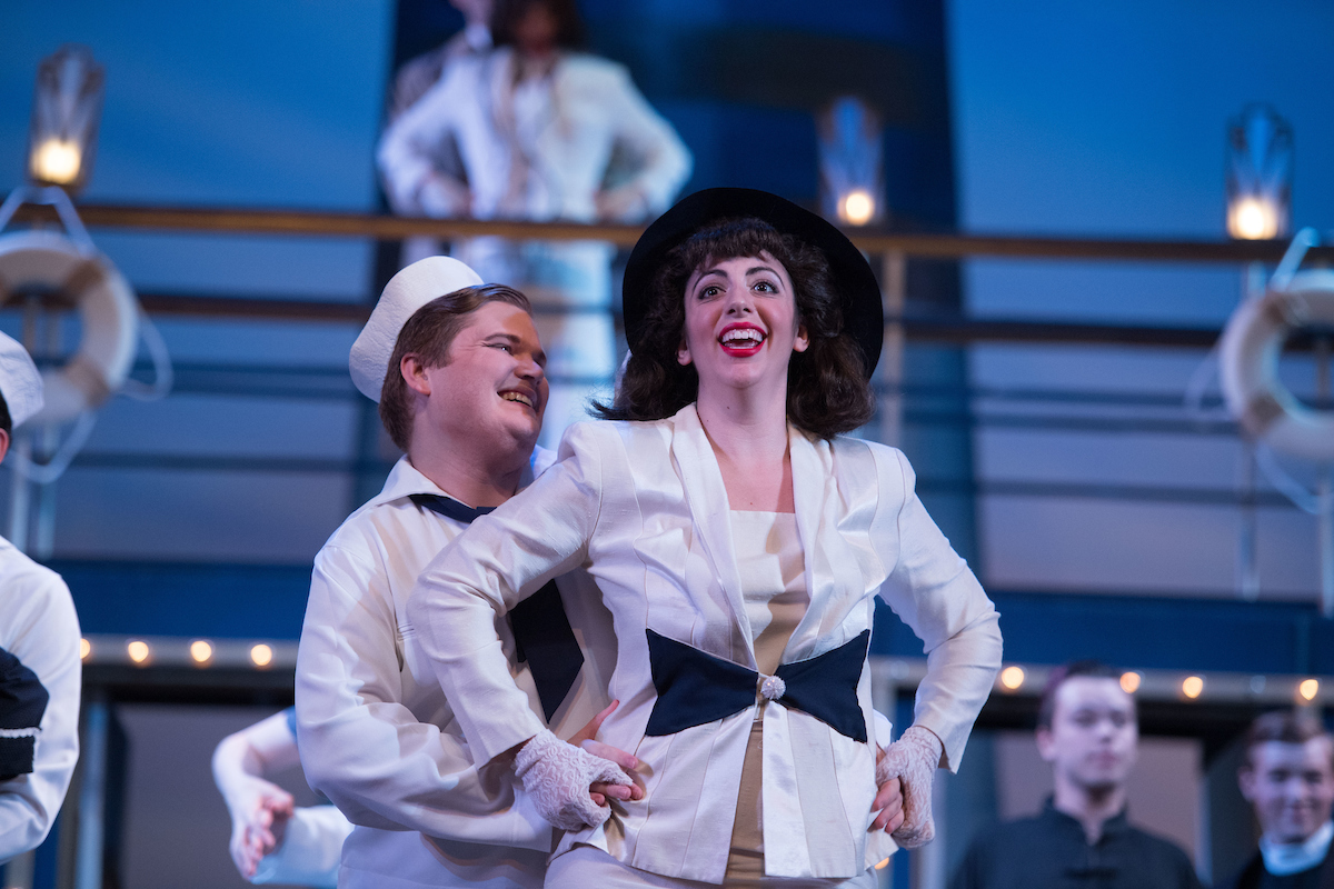 "Yvonne Trobe and Royce Strider in ""Anything Goes"" at Ohio Light Opera, 2017. (Photo: Matt Dilyard)"