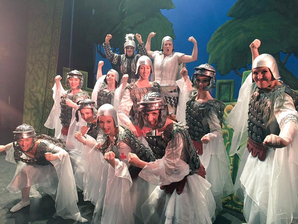 "The ladies of ""Princess Ida,"" 2017. (Photo: National Gilbert & Sullivan Opera Company)"
