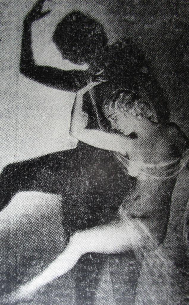 """Agnes Agun in """"Melodie der Nacht,"""" 1938. (Photo from Matthias Kauffmann's """"Operette im 'Dritten Reich'."""")"""