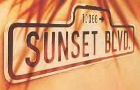 "Logo for the original West End production of ""Sunset Boulevard."""