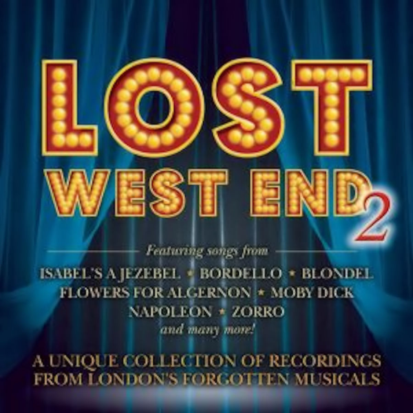 "CD cover for ""Lost West End 2."""