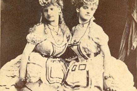 Bring On The (1860s) Dancing Girls