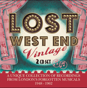 "CD cover for ""Lost West End Vintage."""