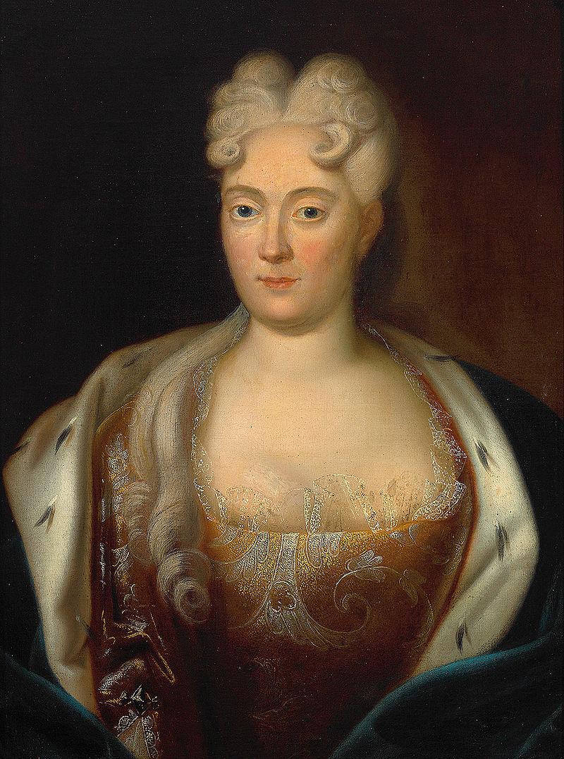 Franziska Sibylla Augusta von Baden, the original 'big sinner' the Künneke show is re-imagining.