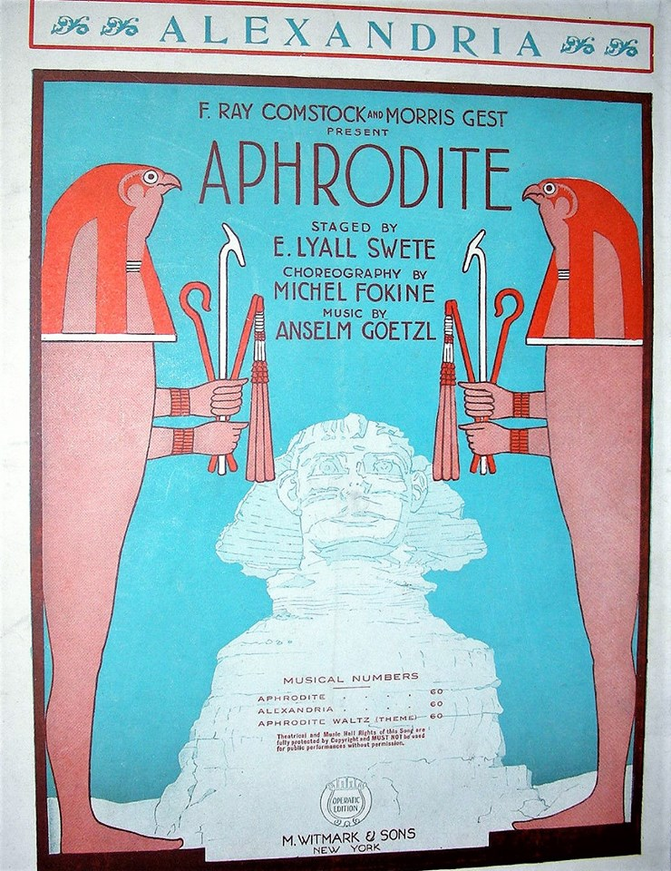 "The 1919 ""Aphrodite"" which ran for 148 performances at New York's vast Center Theatre."