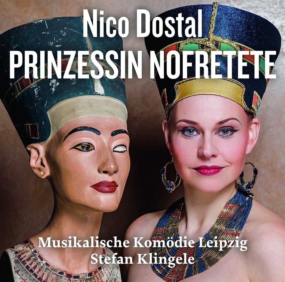"The cast album of Dostal's ""Princessin Nofretete,"" from the Musikalische Komödie Leipzig."