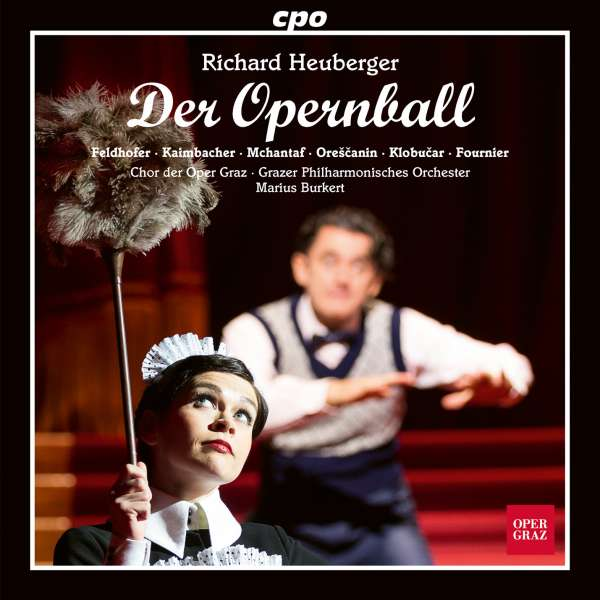 "The CD cover of ""Der Opernball"" on CPO."
