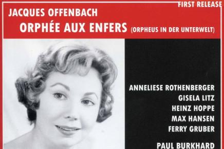 """Anneliese Rothenberger & Max Hansen In """"Orpheus in der Unterwelt"""" 1958"""
