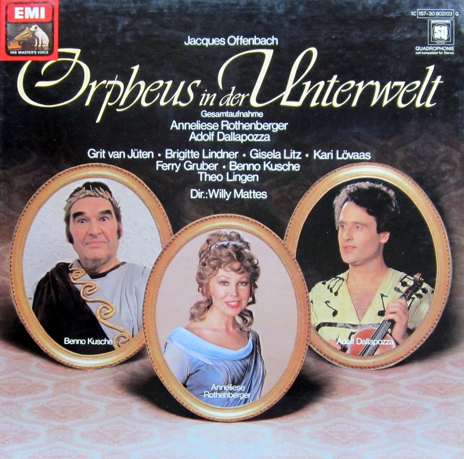 "The EMI recording of ""Orpheus in der Unterwelt,"" 1978."