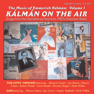 "CD cover ""Kalman on the Air."""