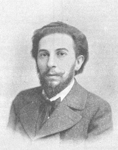 """Composer Edmund Eysler as seen in the magazine """"Aus Sport & Salon,"""" Vienna 1903."""