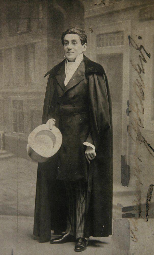 """Alexander Girardi in """"Künstlerblut."""" (Photo: Archive Marion Linhardt)"""