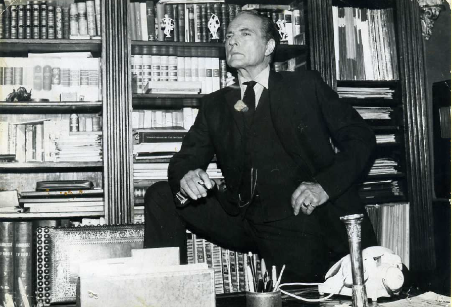 Alberto Spadolini in the autumn of 1972, from the C. Petix collection. (Photo: Atelier Alberto Spadolini)