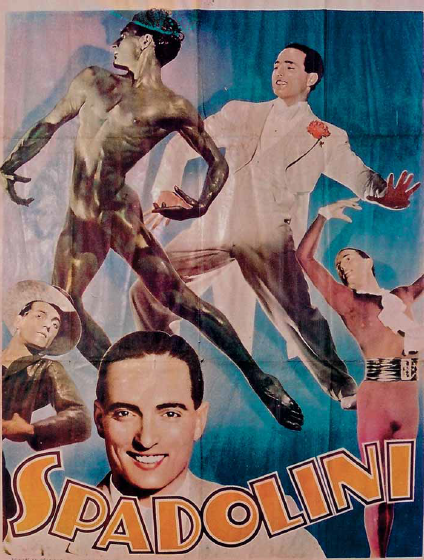 """Spadolini poster: """"Imprimé en Belgique - Papeteries De Genval 1930s. (Photo: Atelier Alberto Spadolini))"""