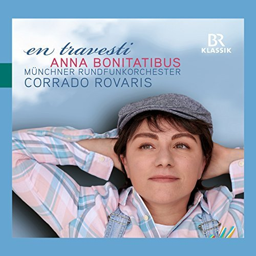 "The CD cover for ""en travesti"" with Anna Bonitatibus. (Photo: BR Klassik)"