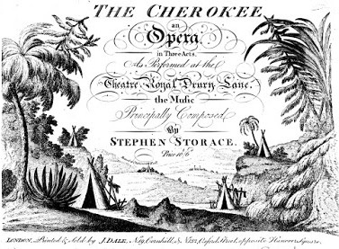 "The score for ""The Cherokee."" (Photo: Kurt Gänzl Archive)"