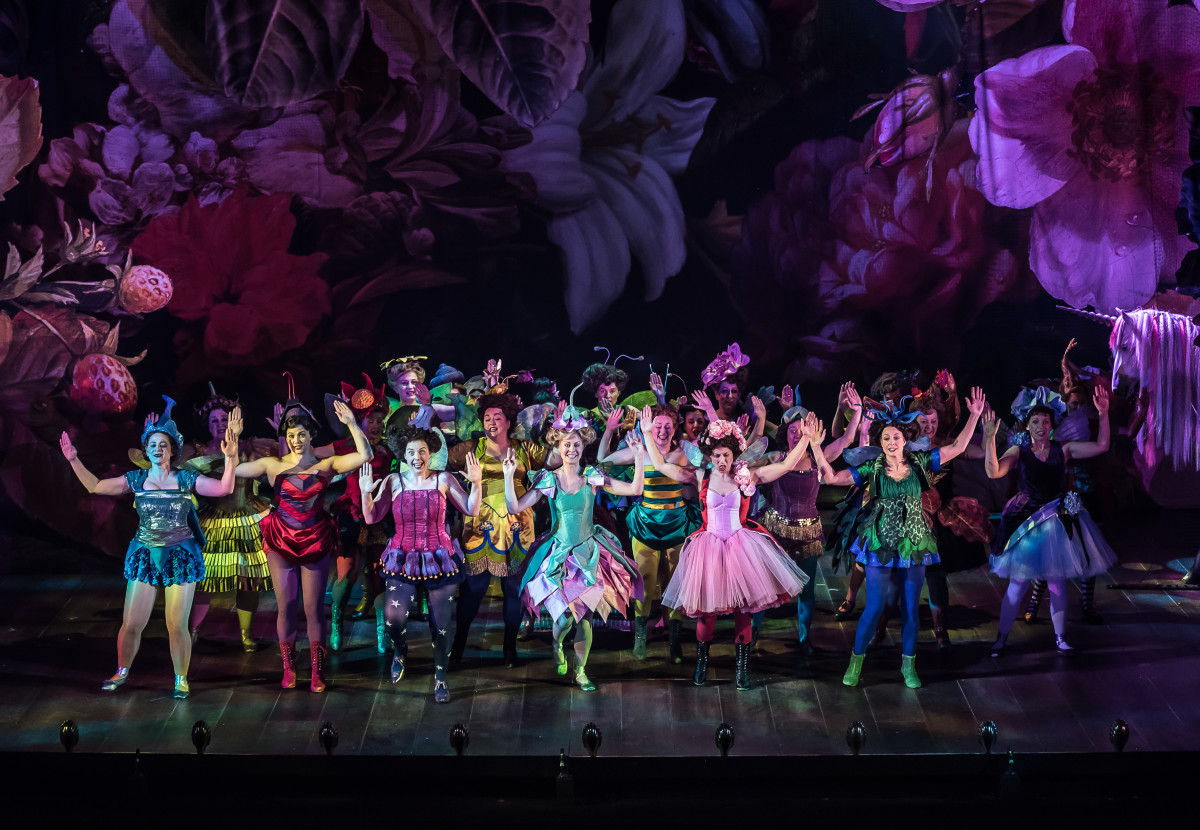 """The ENO production of """"Iolanthe"""" with the ENO Chorus. (Photo: CLIVE BARDA/ArenaPAL)"""