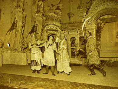 "A scene from the 1894 ""Tabasco"" production."