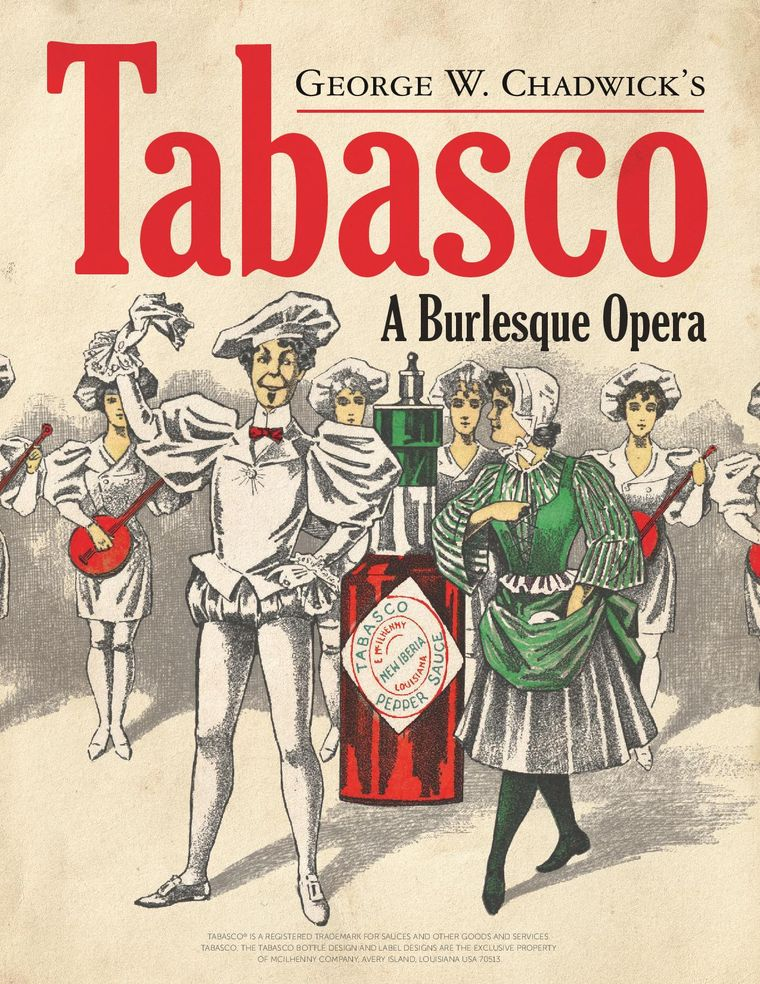 "Poster for George W. Chadwick's ""Tabasco"" in 2018."