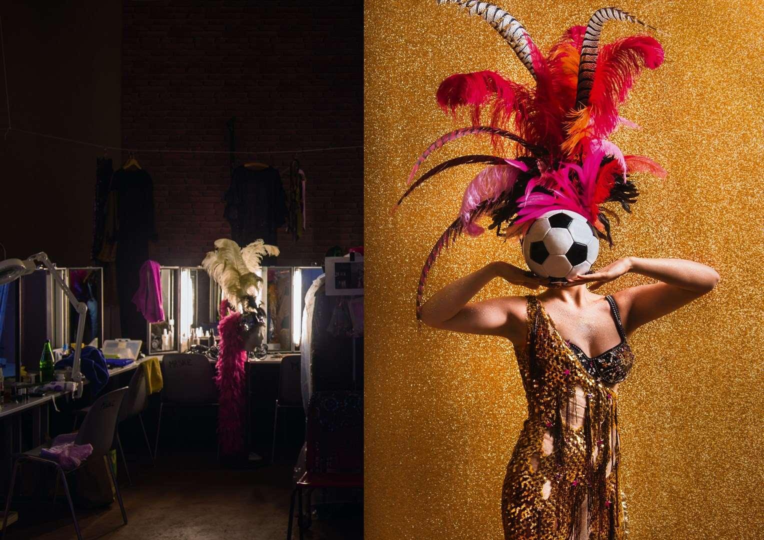 """Promotional photo for """"Roxy und ihr Wunderteam"""" at Komische Oper Berlin. (Photo: Jan Windszus Photography)"""