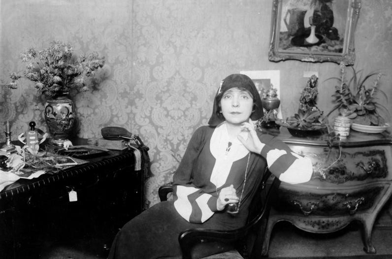 Fritzi Massary in Berlin, 1929. (Photo: Bundesarchiv, Bild 183-1983-0207-501 / CC-BY-SA 3.0)