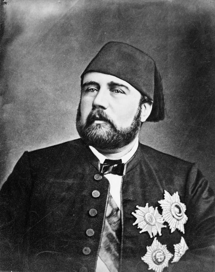 Portrait of Isma'il Pasha (1830–1895), Khedive of Egypt.