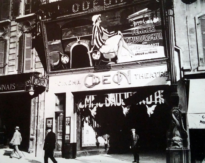 A historic photo of the Théâtre de l'Odéon in Marseille. (www.tourisme-marseille.com)