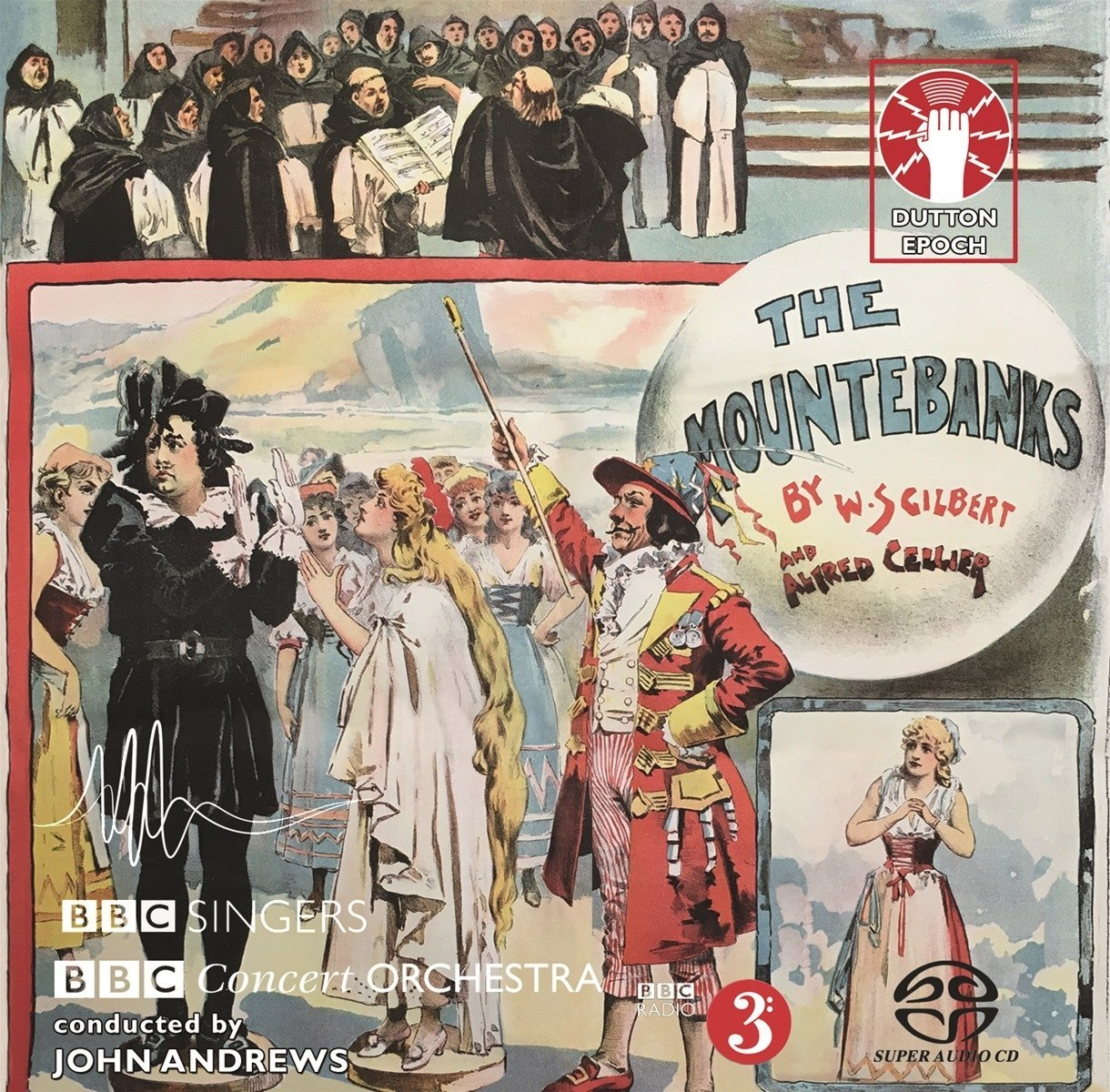 "The 2018 recording of ""The Mountebanks"" on Dutton Vocalion."