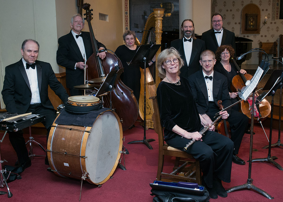 The New Victor Herbert Orchestra. (Photo: Jill LeVine)