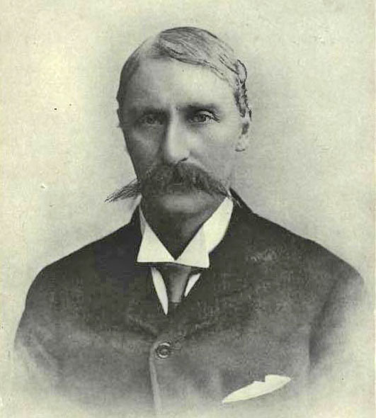 "Alfred Cellier in the 1880s, as seen in ""Good Old Gaiety."""