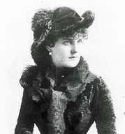 Blanche Roosevelt in 1885. (Photo: Kurt Gänzl Collection)