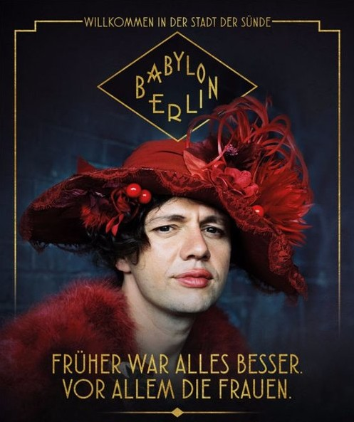 "Movie poster for the series ""Babylon Berlin."""