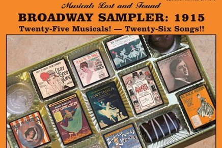 """Broadway Sampler: 1915."" Twenty-Five Musicals And Twenty-Six Songs"
