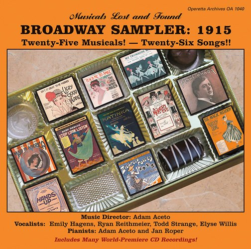 Broadway Sampler 1915