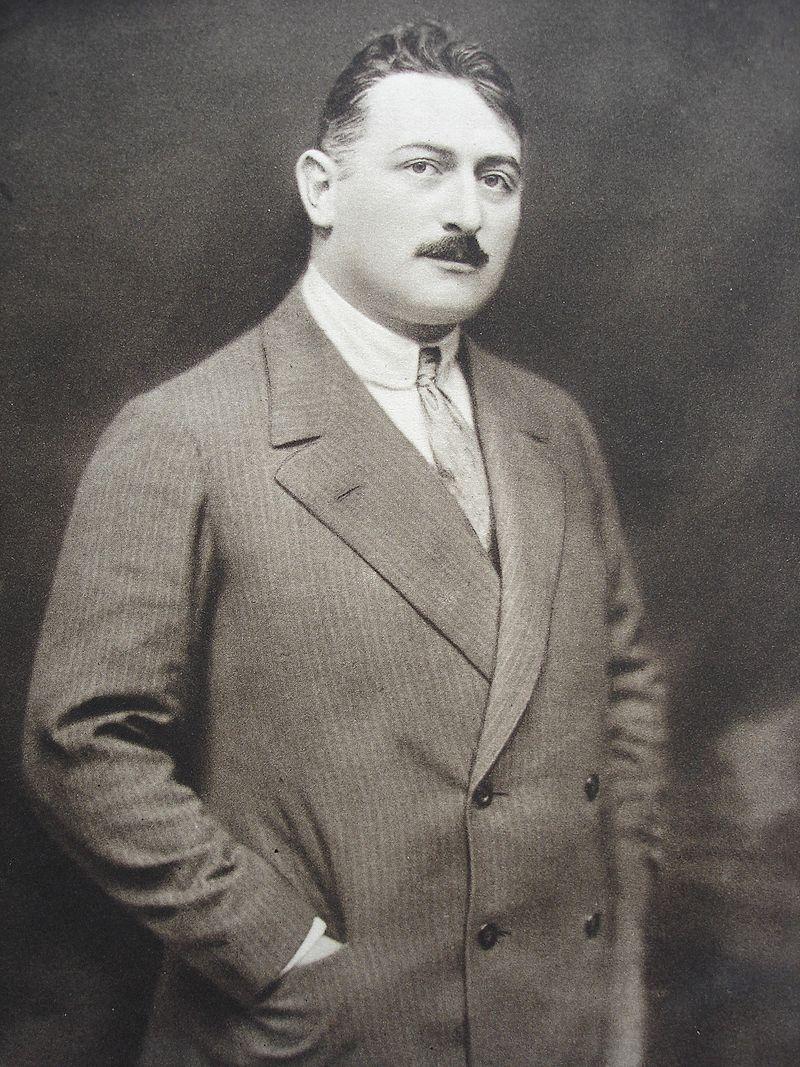 Berlin based composer Jean Gilbert in 1913.